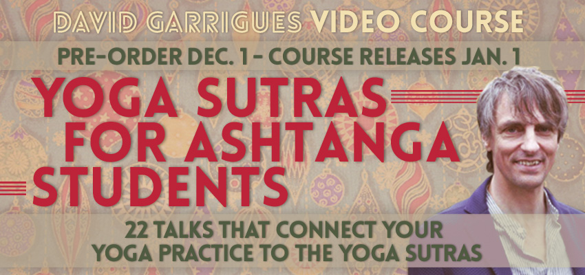 Yoga Sutras Online Course