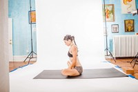 Maximize the hip opening benefits of Baddha Konasana