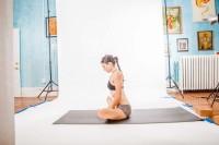 Maximize the hip opening benefits of Baddha Konasana