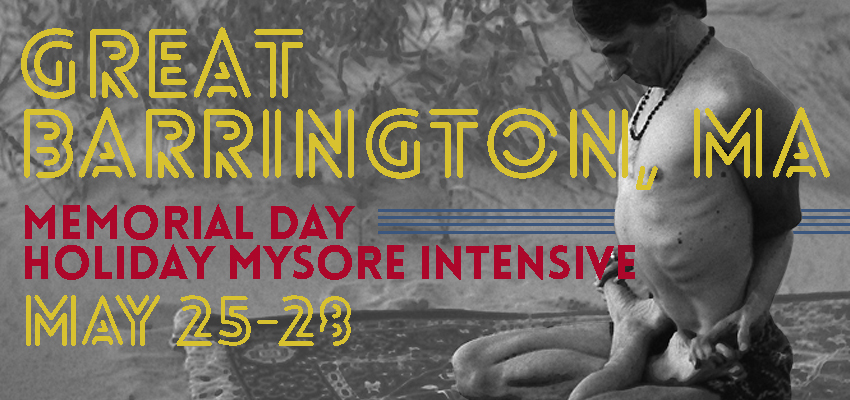 Great Barrington, Massachusetts Mysore Intensive