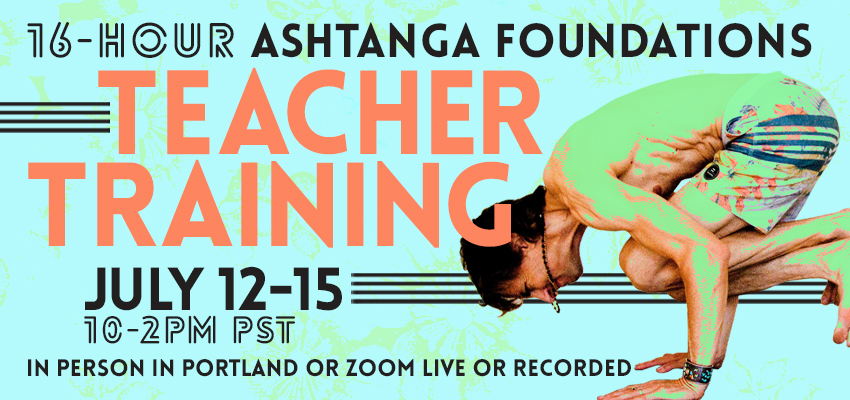 Teacher Training In Person and Via Zoom