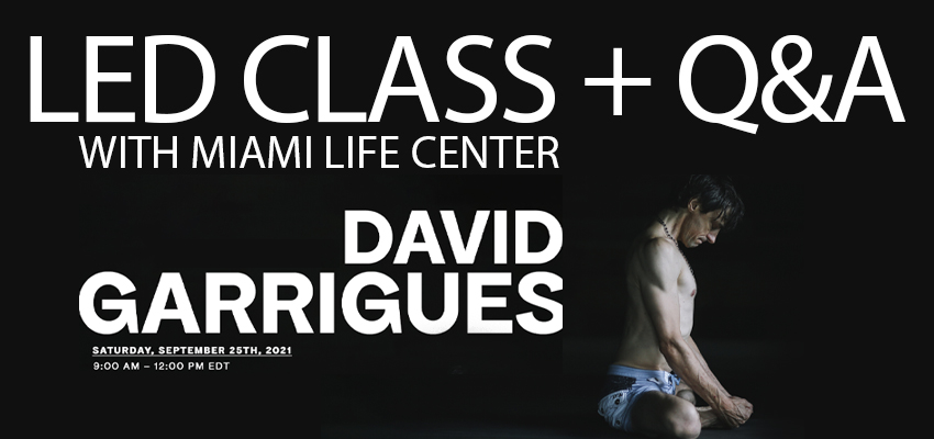 Led Class and Q&A with Miami Life Center