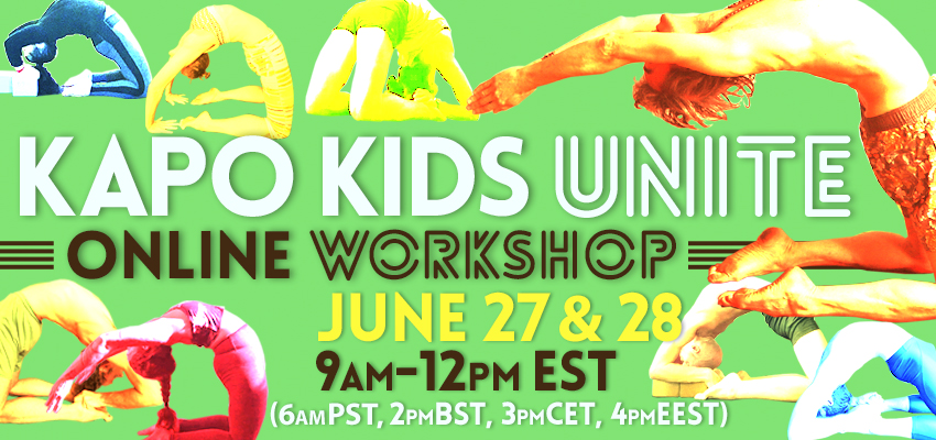 Kapo Kids Unite Online Workshop