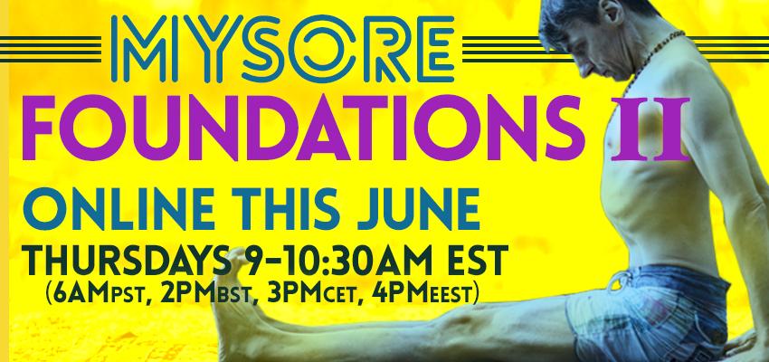 Online Mysore Foundations II