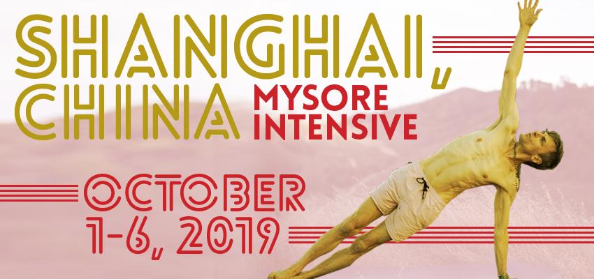 Shanghai Mysore Intensive