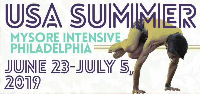 Philadelphia Summer Mysore Intensive