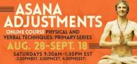 Asana Adjustments Online Course