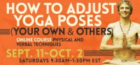 How to Adjust Yoga Poses Online Course