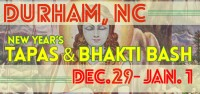 New Year's Tapas and Bhakti Bash