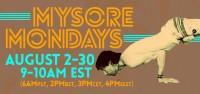 Monday Online Mysore August