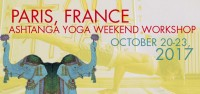 Ashtanga Yoga Paris!
