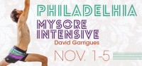 November Philadelphia Mysore Intensive