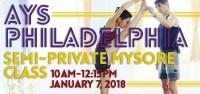 AYS Philadelphia Semi-Private Mysore Class