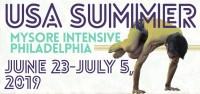 USA Summer Mysore Intensive - Philadelphia