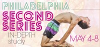 Philadelphia Second Series In-Depth Study March 17th-21st, 2016.  This five-day intensive will give you a deep look into the second series including such aspects as asana, pranayama, bandhas, vinyasa, transitions, modifications, and more.