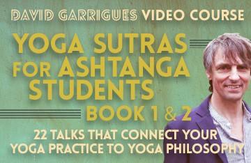 Yoga Sutras for Ashtanga Students