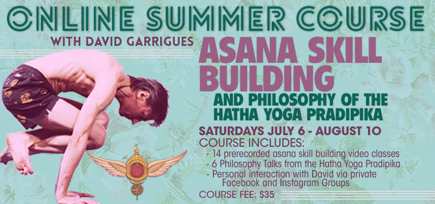 Asana Skill Building and Philosophy of the Hatha Yoga Pradipika Online Summer Course