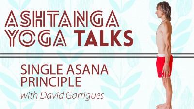 Ashtanga Yoga Talks: Single Asana Principle
