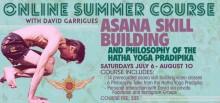 Online Summer Course: Asana Skill Building and Philosophy from Hatha Yoga Pradipika