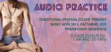 Traditional Vinyasa Count Primary Series Sri K Pattabhis Jois Pranayama Sequence (1 hr and 50 min)