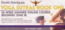 Yoga Sutras Online Summer Course
