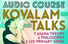 Kovalam Talks: Asana Theory, Philosophy, and Led Primary Series