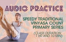 Speedy Traditional Vinyasa Count Primary Series